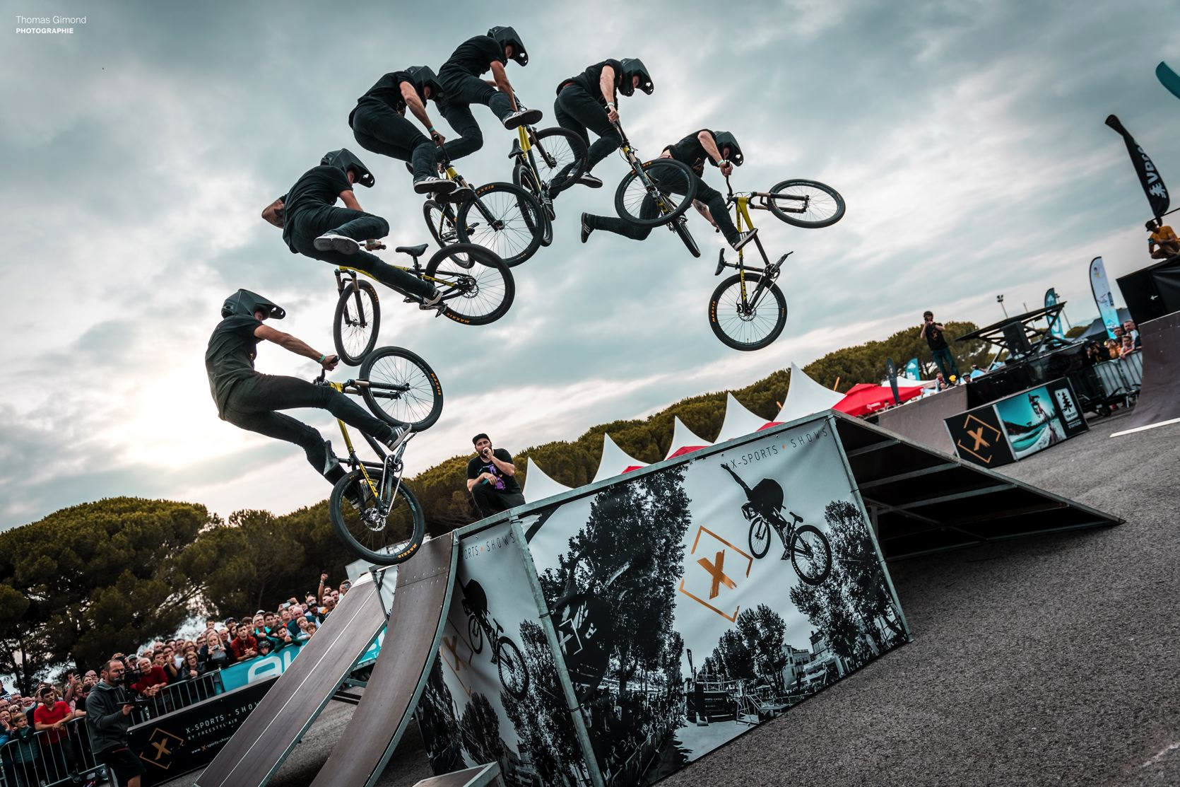 Roc d'azur 2019 shows VTT X-sports