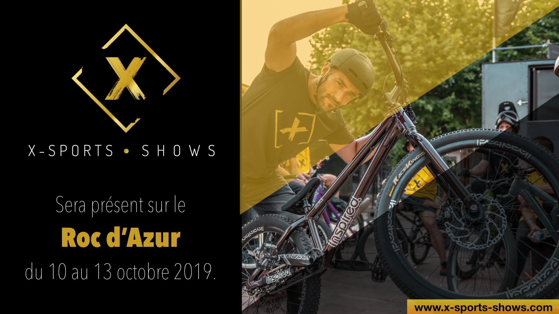 X-sports shows sur le Roc d'Azur 2019