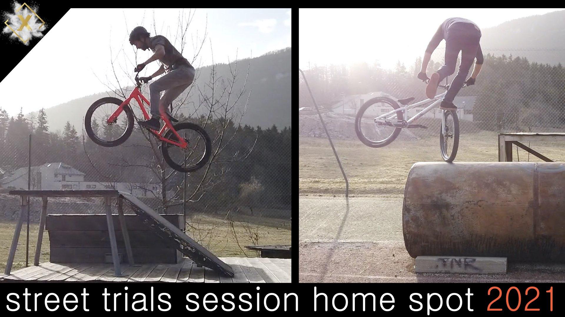 VIDEOS : Entrainement et test des nouveaux vélos. 01 mars 2021