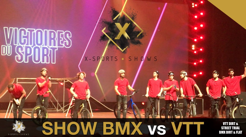 LIVE PERFORMANCE BMX vs MTB FREESTYLE NICE ACROPOLIS 2020