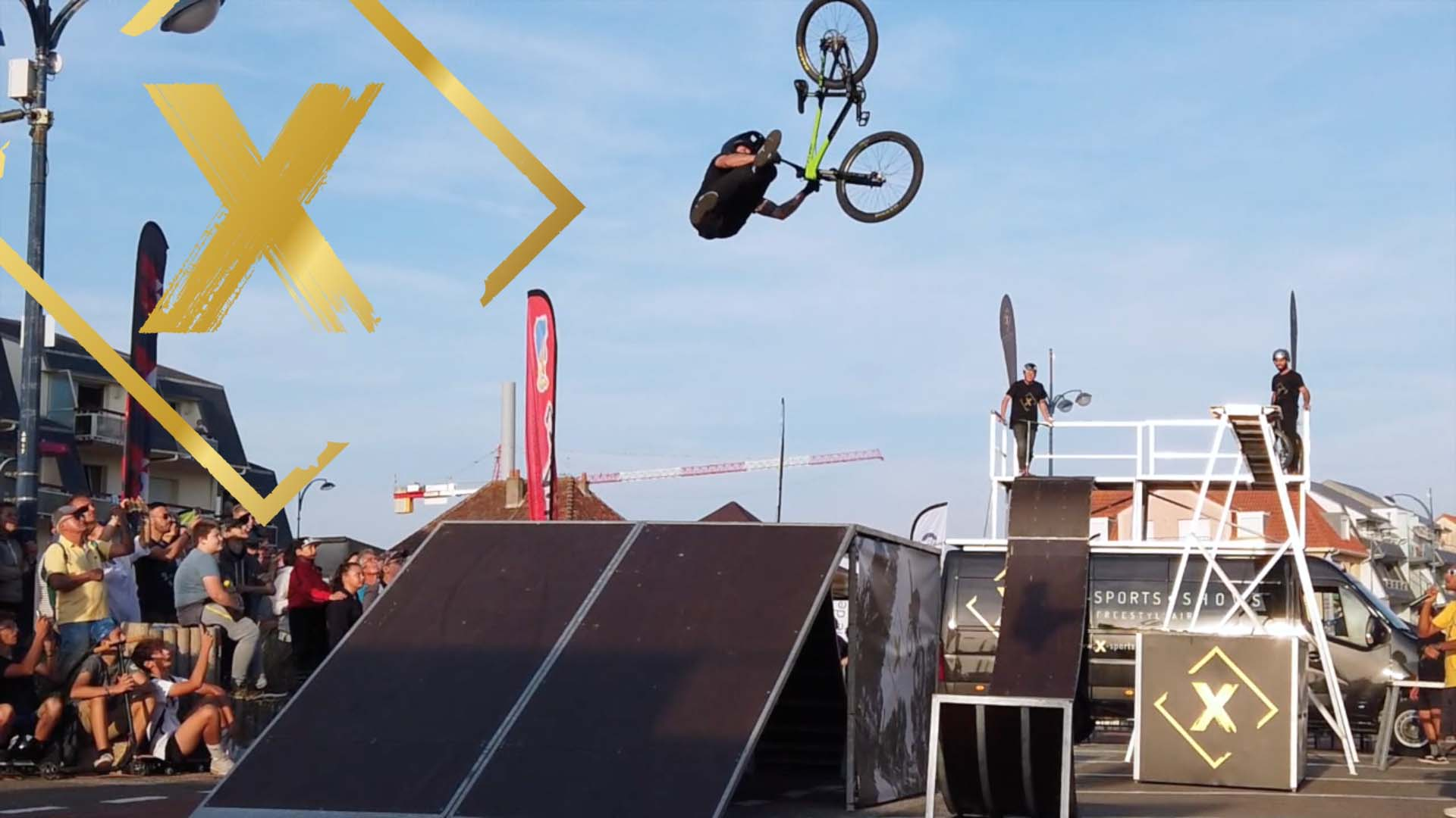 X-sports shows Freerider Fest 2019