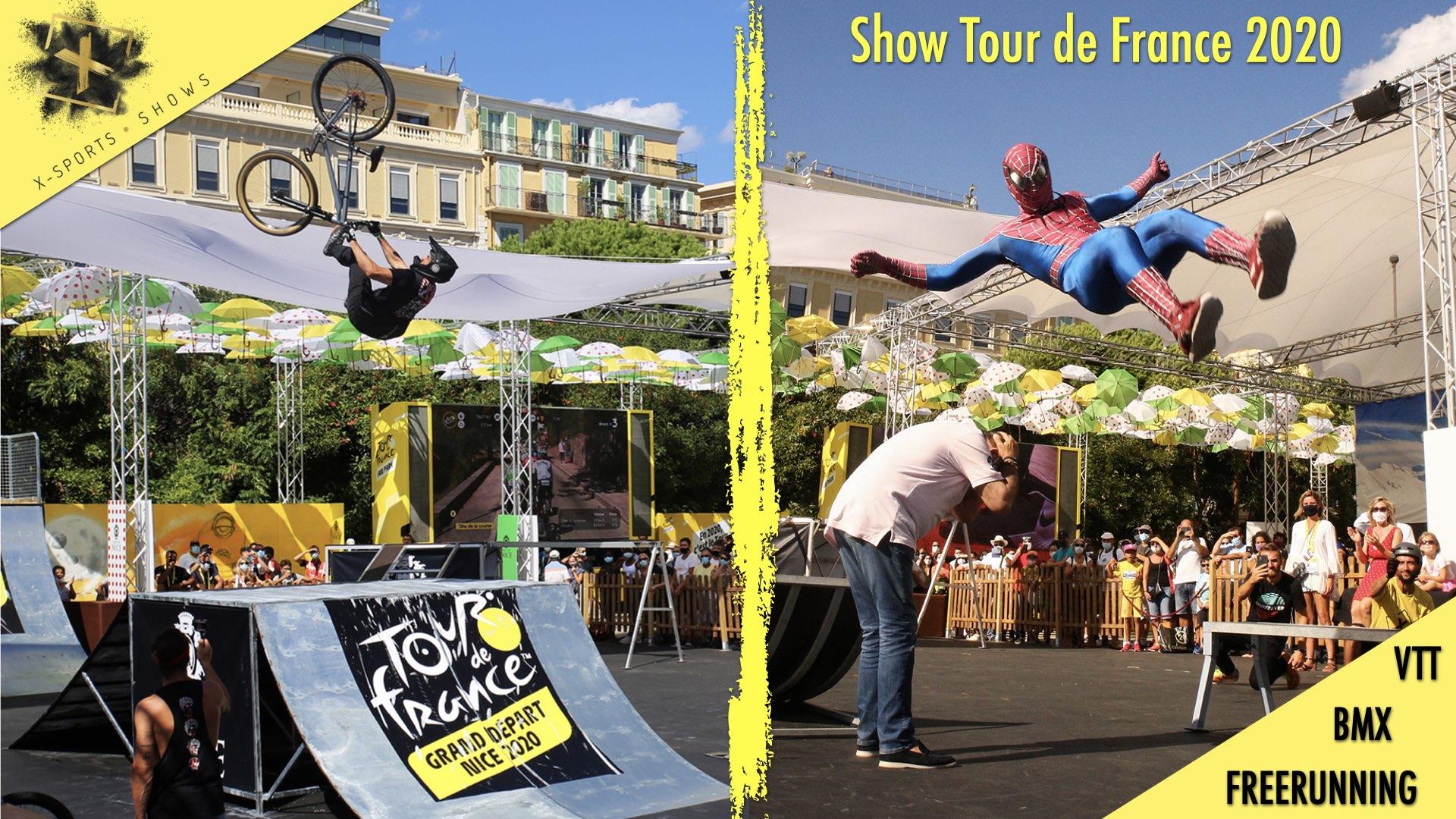 Show pour le Grand départ du Tour de France 2020