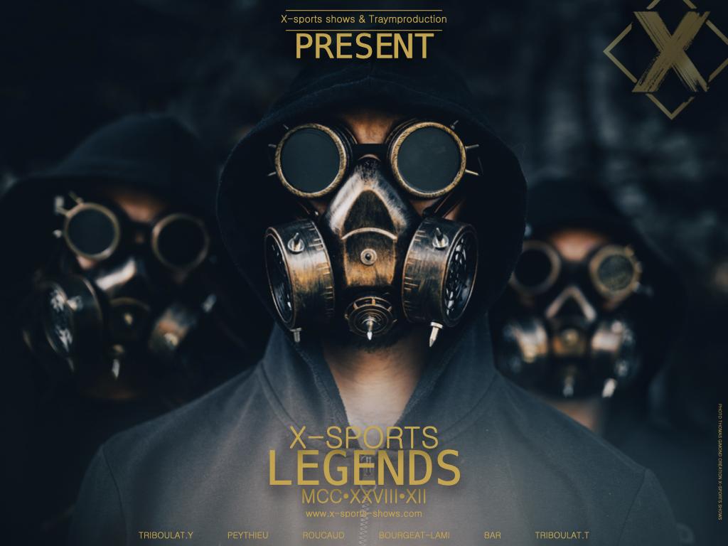 Film  X sports Legends 2021 Come Back 19 juillet 2021