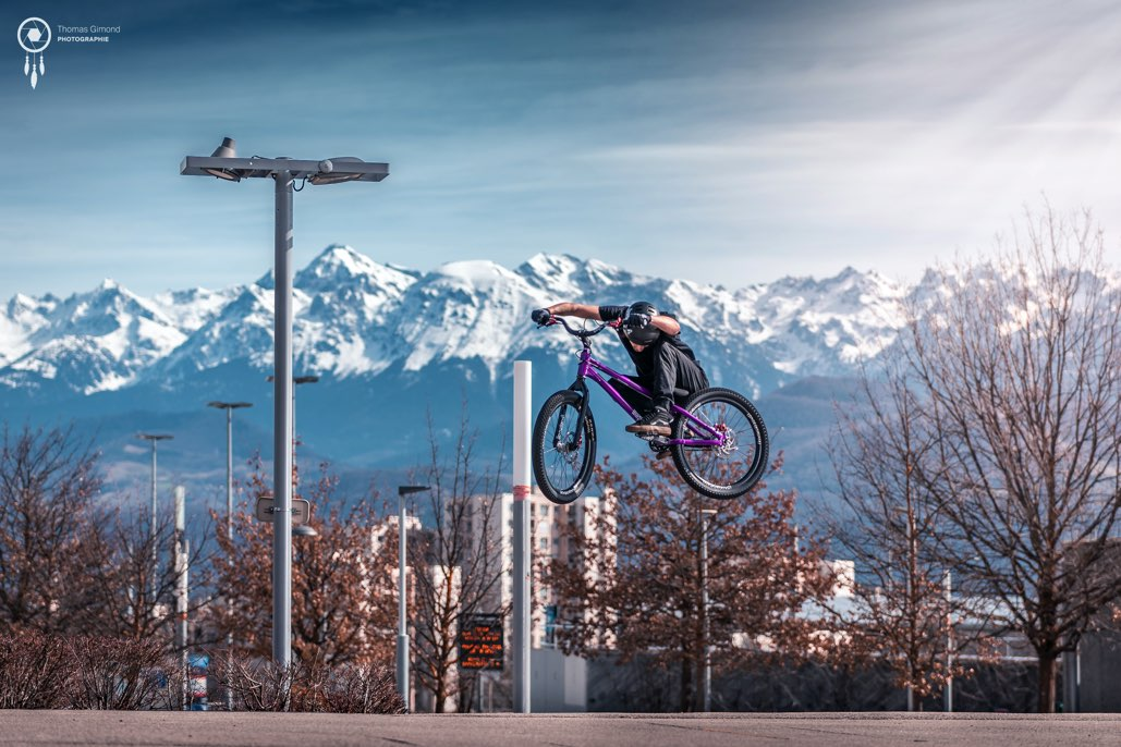 FOCUS RIDER THOMAS TRIBOULAT STREET TRIALS