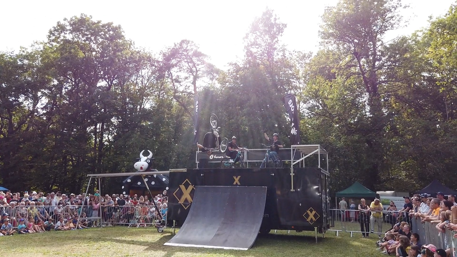 Vidéo Show BMX / VTT 05 septembre 2021