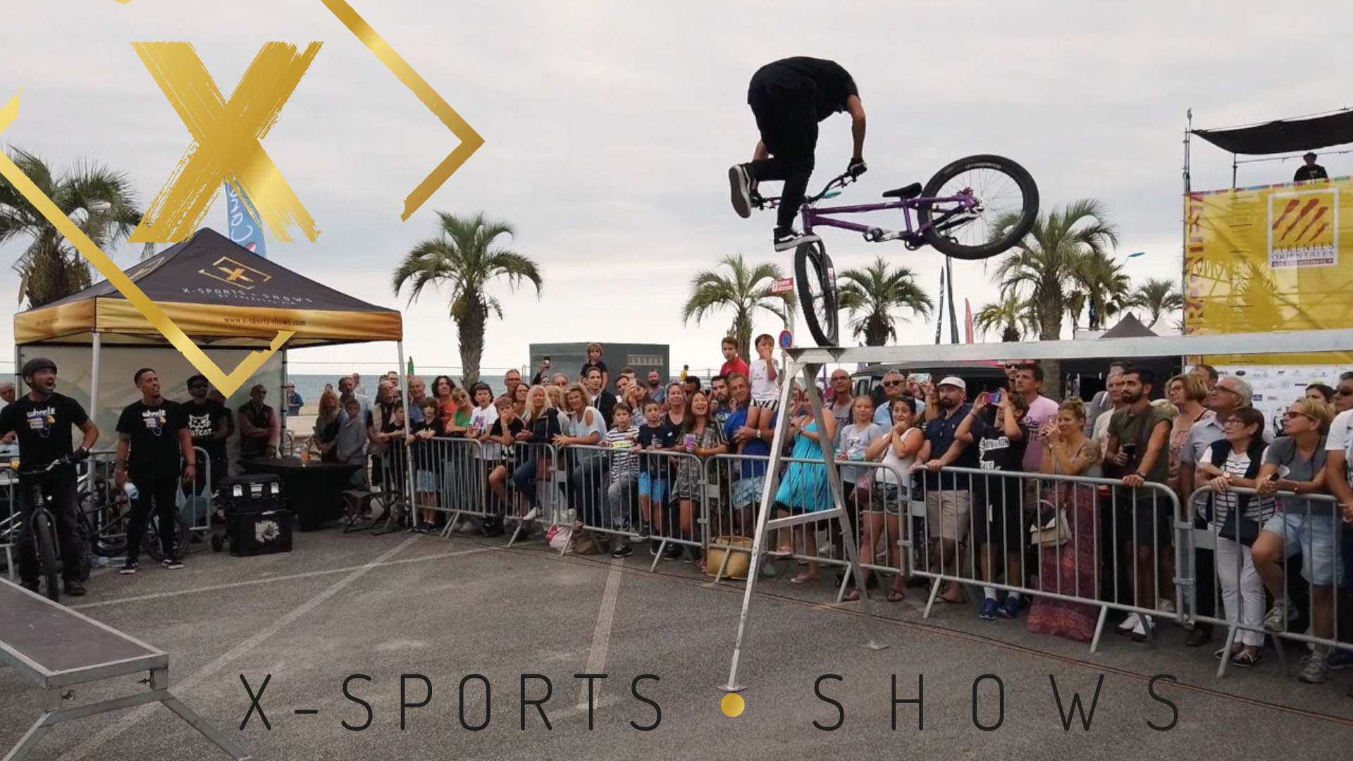 X-sports shows sur le Wheelz Festival 2019 Video