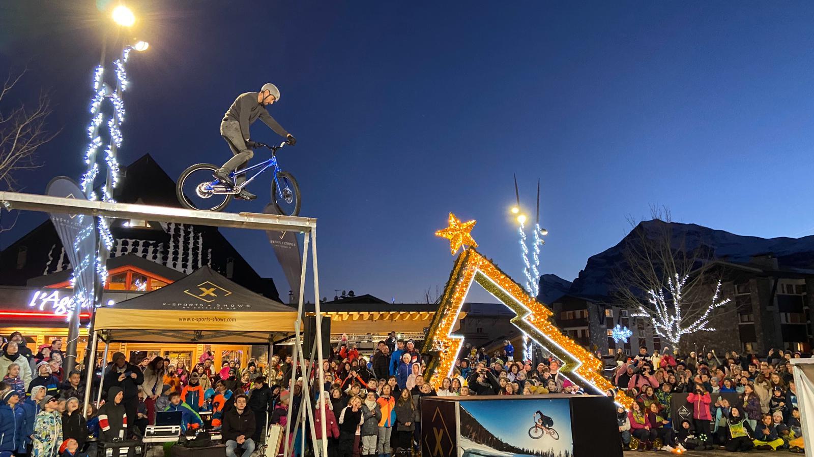 Show VTT et BMX freestyle Les Carroz, Nice 2020