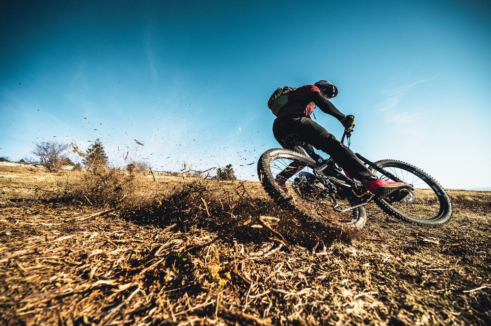 Shooting Yohan Triboulat  e-bike Vercors  7 décembre 2020